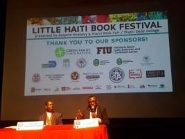 iciHaïti - Diaspora : Le Ministère de la Culture au «Little Haiti Book Festival» à Miami