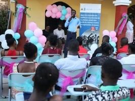 iciHaïti - Social : 47 jeunes certifiés sur la violence de genre et les masculinités positives