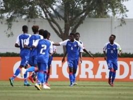 Haiti - U-17 World Cup : Minister Charles congratulates our Grenadiers for their qualification
