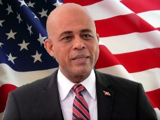 Haiti - Politic : Michel Martelly in Washington