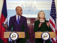 Haiti - Politic : Hillary Clinton had lunch with Michel Martelly