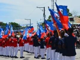 Haiti - 216th : The young archelois represented with brio and pride our two-colored