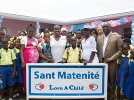 iciHaiti - Fond Parisien : Inauguration of the Maternity «Love a Child»