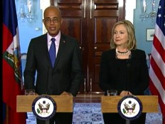 Haiti - Politic : Text of the joint press conference, Hillary Clinton - Michel Martelly