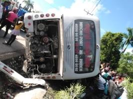 iciHaïti - Mirebalais : Grave accident routier, au moins 9 victimes