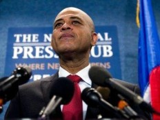 Haiti - Politic : Reactions of Michel Martelly to the confirmation of his victory