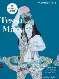 iciHaïti - Culture : Exposition inédite de Tessa Mars à la Maison Dufort