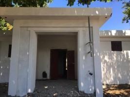 iciHaïti - Reconstruction : Travaux du sous-commissariat de Port-Margot achevés à 90%