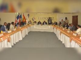 iciHaïti - Politique : Les Fédérations des maires d'Haïti et de la République dominicaine signe un accord