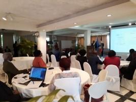 Vendredi, la Minujusth a lancé en partenariat avec l´État Haïtien et l´Office des Nations Unies contre la Drogue et le Crime (ONUDC) un programme de formation en ligne sur l'intégrité judiciaire...