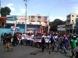 Haiti - Social : New anti-Moïse demonstration, violence and vandalism at the rendezvous