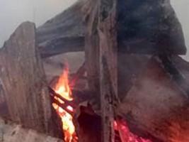 iciHaïti - RD : Logements d'haïtiens incendiés, des armes à feux artisanales trouvées sur les lieux