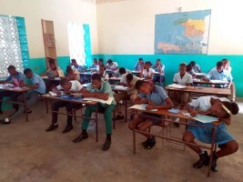 Haiti - Education : First day of exams under tension