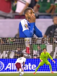 Haiti - Gold Cup 2019 : Haiti eliminated in semi-final by Mexico [0-1] on a questionable penalty