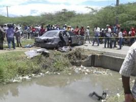 iciHaïti - RD : 8 travailleurs clandestins haïtiens et un dominicain meurent dans un accident
