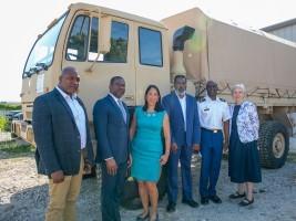 Haiti - Humanitarian: The US Government donates medical equipment