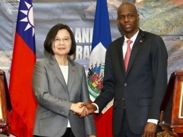 Haiti - Taiwan : President Tsai Ing-Wen's flash visit, no new announcements