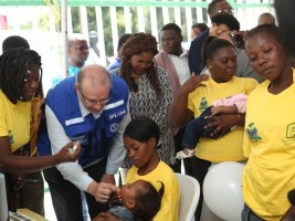 iciHaiti - Health : Start of the national vaccination campaign