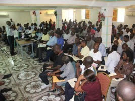 iciHaiti - Secondary renovated :  128 correctors of the Nippes and the South-East in training