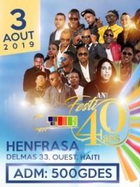 iciHaiti - «TNH-Festi 40 ans» : Mega concert announced