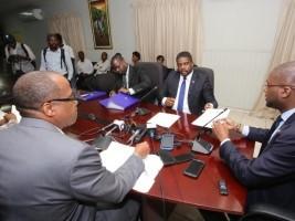 iciHaïti - Politique : Le nouveau Premier Ministre nommé a déposé ses pièces