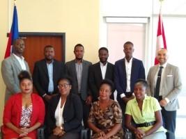 iciHaïti - Études : 9 boursiers haïtiens sur le départ pour le Canada