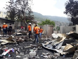 Haiti - FLASH : Explosion of a propane gas tank, 18 houses destroyed