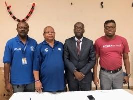 iciHaïti - Sports : Le Ministre Charles rencontre les dirigeants des ligues de Basketball