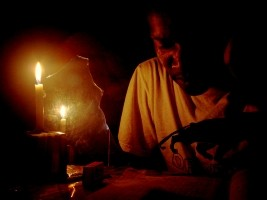 iciHaïti - Petit-Goâve : Le RN#2 bloquée par une manifestation contre le «Blackout»