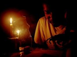 iciHaiti - Petit-Goâve : The RN #2 blocked by a demonstration against the Blackout
