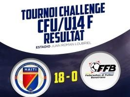 iciHaïti - Football U-14 : Nos Grenadières humilient Bonaire [18-0]