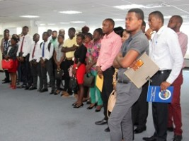 Haiti - Politic: The Ministry of Interior welcomes 40 new trainees