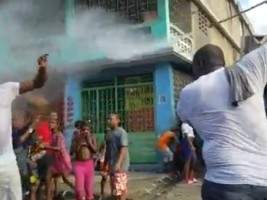 hereHaiti - Port-au-Prince: End of the Car Wash Party