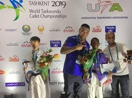 iciHaïti - Taekwondo : Un jeune haïtien de 14 ans médaillé au Championnat du Monde cadet