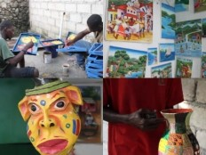Haiti - Economy : Art gives a new life to 350 Haitian families