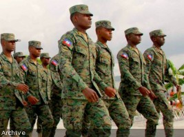 iciHaiti - Severe weather : The Corps of Military Engineering assesses the damage to Grand'Anse