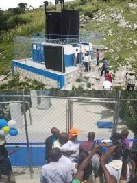 iciHaiti - Social : Drinking water finally closer for communities of Arcahaie