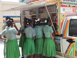 iciHaïti - Social : Bonne nouvelle, des livres en prêt au «BiblioTapTap»