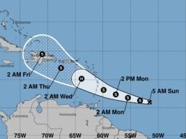 Haiti - FLASH: Tropical Storm Dorian Towards Haiti