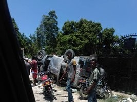 iciHaiti - Léogâne : Irresponsible behavior, 3 dead, a dozen wounded in an accident