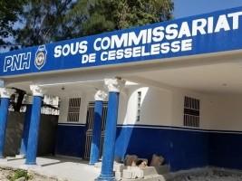 iciHaïti - Croix-des-Bouquets : Le sous-commissariat de police de Cesselesse presque prêt