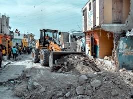 iciHaïti - Delmas : Vaste opération d'élargissement de rues