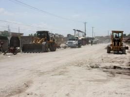 iciHaïti - Croix-des-Bouquets : Travaux d'aménagement de routes à ONA Ville