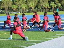 Haïti - Football : Fin du stage de préparation de nos Grenadiers en Floride