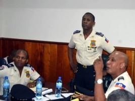 iciHaïti - PNH : Rameau Normil préside une importante réunion de commandement
