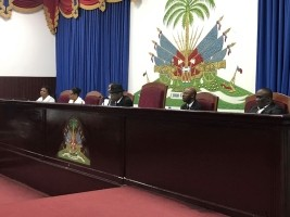 Haiti - Politic: Closing of the last ordinary session (Speech of Cantave) <br />Source<a href=