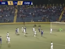 Haiti - Curacao : Draw [1-1], the Grenadiers no longer have the right to make a mistake