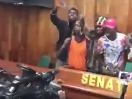 Haiti - FLASH : The Senate stormed and ransacked by armed «militants» of the opposition
