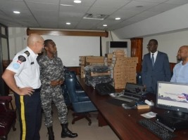 iciHaiti - PNH : Important donation of computer equipment