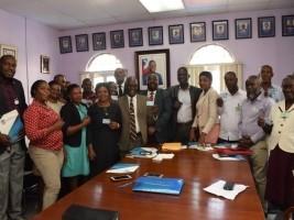 iciHaïti - Nord-Est : L'ONA accueille une vingtaine de Maires assurés volontaires